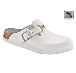 061378 BIRKENSTOCK ESD BOSTON Sandale schmale Weite weiß Größe 36 - 42