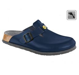 061388 BIRKENSTOCK ESD BOSTON Sandale schmale Weite blau Größe 36 - 42