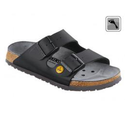089428 Klein BIRKENSTOCK ESD ARIZONA Sandale schmale Weite schwarz Größe 35 - 48