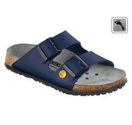 089438 Klein BIRKENSTOCK ESD ARIZONA Sandale schmale Weite blau Größe 35 - 48