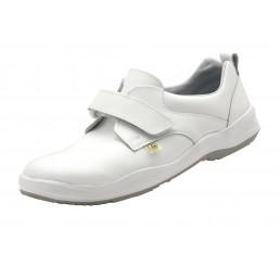 1.1433.01.35 SCHÜRR Kempten ESD Schuhe mit Klettverschluss weiß 01 Größe 36 - 40