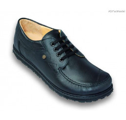 136 Jacoform Schuhe Leder schwarz Größe 2,5 - 11,5