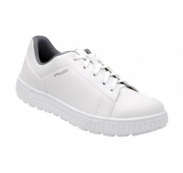 AWC Sneaker 15350-01-45 Schnürschuhe Arbeitsschuhe ohne Schutzkappe weiß OB Größe 36 - 47