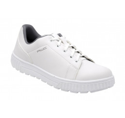 AWC Sneaker 26350-01-45 Schnürschuhe Arbeitsschuhe mit Schutzkappe weiß S2 Größe 36 - 47