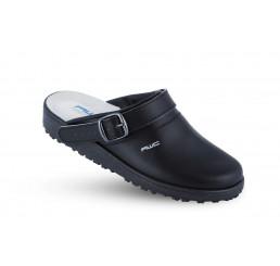 17000-02-99 AWC Damen-Clog ohne Stahlkappe schwarz Leder Größe  36 - 40