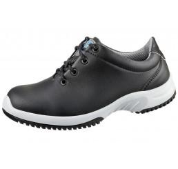 6781 ABEBA Schnürschuhe ohne Schutzkappe schwarz A-micro®, Größe  35 - 48