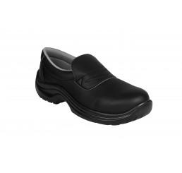 2000-02 ASF Slipper Arbeitsschuhe Serviceschuhe Küchenschuhe ohne Schutzkappe schwarz 02 Größe 35 - 48