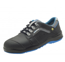 2.4001.02.94 SCHÜRR Dortmund Schuhe mit Alukappe ESD schwarz S1 Größe 36 - 48