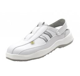 2.5003.10.35 Schürr Schwaben Sandale mit Schutzkappe ESD weiß SB Größe 36 - 47