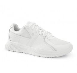27041 Shoes for Crews Damen Schnürschuhe FALCON II (Condor) ohne Schutzkappe weiß 01 Größe 36 - 41