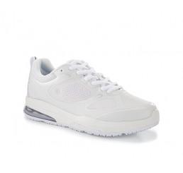 """28093 Shoes for Crews >Damen-Schnürschuhe """"Revolution II"""" ohne Schutzkappe weiss  Größe 35 - 42"""