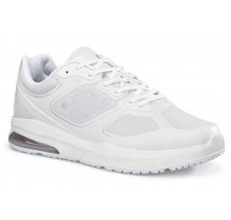 """28289 Shoes for Crews >Herren-Schnürschuhe """"Evolution II"""" ohne Schutzkappe weiss  Größe 38 - 49"""