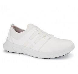 32709 Shoes for Crews >Damen-Slipper Karina ohne Schutzkappe weiß  Größe 35 - 42