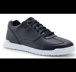 35353 Shoes for Crews Damen Arbeitsschuhe Liberty ohne Schutzkappe schwarz mit weiße Sohle Größe 35 - 42