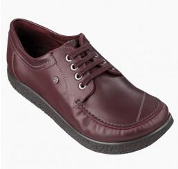 330 Jacoform Schuhe, Leder, burgund,