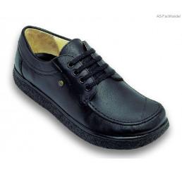 336-1 Jacoform Schuhe, Leder, schwarz, Größe 2,5 - 13
