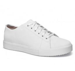 """33870 Shoes for Crews >Herren-Schnürschuhe """"Old School III"""" ohne Schutzkappe weiss  Größe 39 - 47"""
