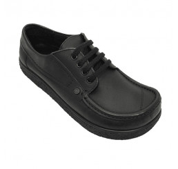350-2 Jacoform Schuhe Leder schwarz Größe 2,5 - 15