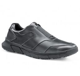 """36479 Shoes for Crews >Herren-Slipper """"Grayson"""" ohne Schutzkappe schwarz Größe 38 - 48"""