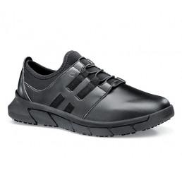 36907 Shoes for Crews >Damen-Slipper Karina ohne Schutzkappe schwarz  Größe 35 - 44