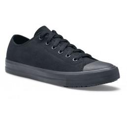 """38852 Shoes for Crews Herren Sneaker """"Delray"""" Canvas ohne Schutzkappe schwarz Größe 38 - 47"""