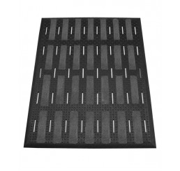 40 Mighty Mat Max II Shoes for Crews rutschhemmende Bodenmatte 91,44 cm x 121,92 cm