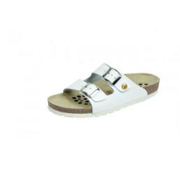 44111-2 WEEGER ESD Sandale Arbeitsschuhe weiss Leder Größe 35 - 49