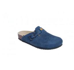 48512-3 WEEGER ESD Clog Arbeitsschuhe blau Nubukleder Größe 35 - 49