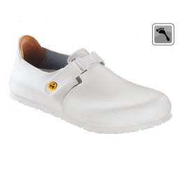 583158 BIRKENSTOCK ESD LINZ Sandale schmale Weite weiß Größe 36 - 42