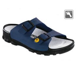 596050 BIRKENSTOCK ESD TOULON Sandale normale Weite blau Größe 36 - 46