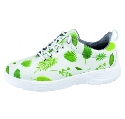 Abeba X-Light 711162 Arbeitsschuhe weiß grün Textil 01 Größe 35 - 48