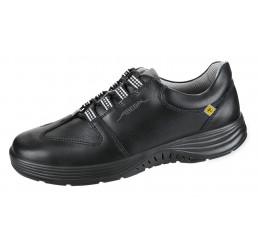 7131138 ABEBA X-Light ESD Arbeitsschuhe schwarz Leder 02 Größe 35 - 48