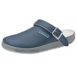 9250 ABEBA Küchenclogs Berufsschuhe ohne Schutzkappe marine Leder Größe 36 - 47