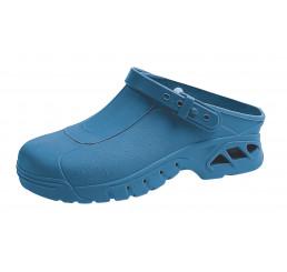 ABEBA OP Clogs 9610 Berufsschuhe Arbeitsschuhe autoklavierbar blau Größe 35/36 - 45/46