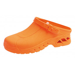 ABEBA OP Clogs 9630 Berufsschuhe Arbeitsschuhe autoklavierbar orange Größe 35/36 - 45/46