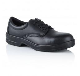 D203 Safeway Arbeitsschuhe Schnürschuhe ohne Schutzkappe schwarz 01 Größe 35 - 47