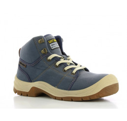 DESERT Safety-Jogger Sicherheitsstiefel blau S1P SRC Größe 38 - 47