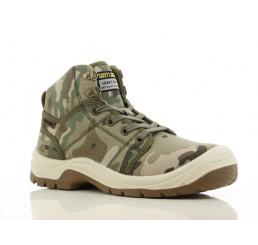 DESERT Safety-Jogger Sicherheitsstiefel camouflage S1P SRC Größe 38 - 47