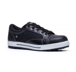 Shoes for Crews Sicherheitsschuhe 79778 Fergus mit Schutzkappe schwarz weiß S3 Größe 36-48