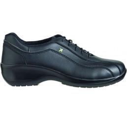R260 Safeway Ladies1.st Damen Arbeitsschuhe Schnürschuhe 01 schwarz Größe 34 - 42