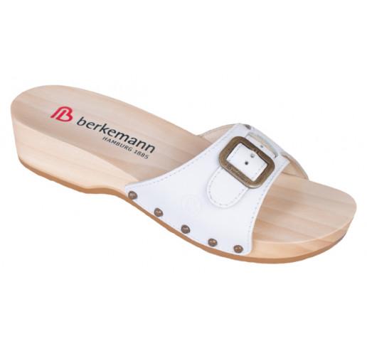 0107 100 Berkemann Noppen Holz Sandale weiß Größe 3 12